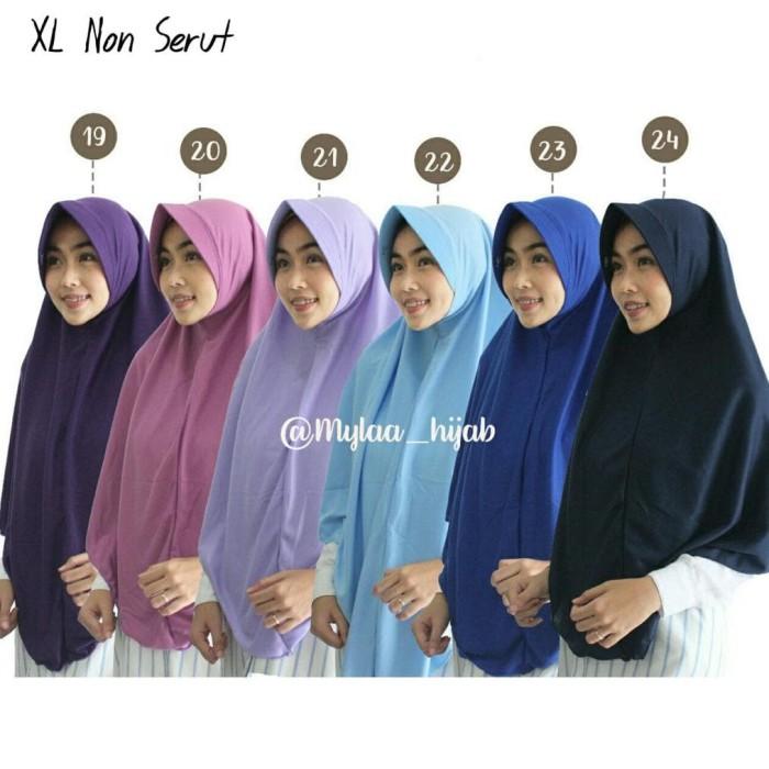 Jual Discount Jilbab Xl Hijab Bergo Kaos Tanpa Serut Bahan Kaos Pe Anak Jakarta Barat Nazafarin Kids Tokopedia