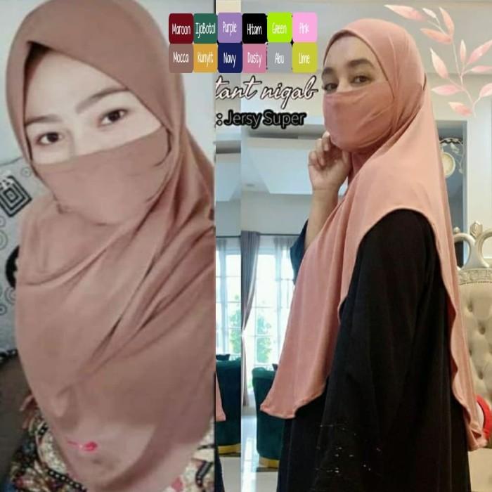 Jual Jilbab Syari Hijab Rempel Kerudung Murah Khimar Pet Rempel Wanita Ctk Kota Bandung Tunikers Hijab Tokopedia