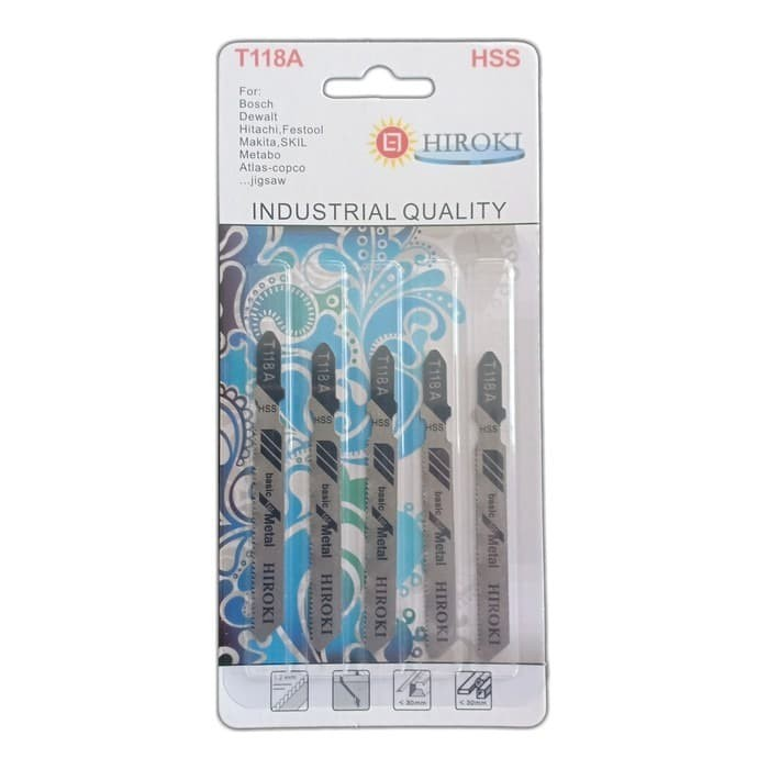 Foto Produk HIROKI T 118 A Mata Gergaji Jigsaw jig saw potong Besi Metal Alumunium dari JABAR TEKNIK
