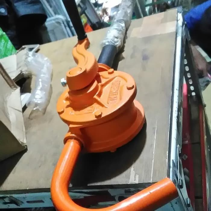 Foto Produk Pompa Oli DRUM ORIENTAL Manual Tangan Untuk Minyak Rotary Hand Oil Pum dari JABAR TEKNIK