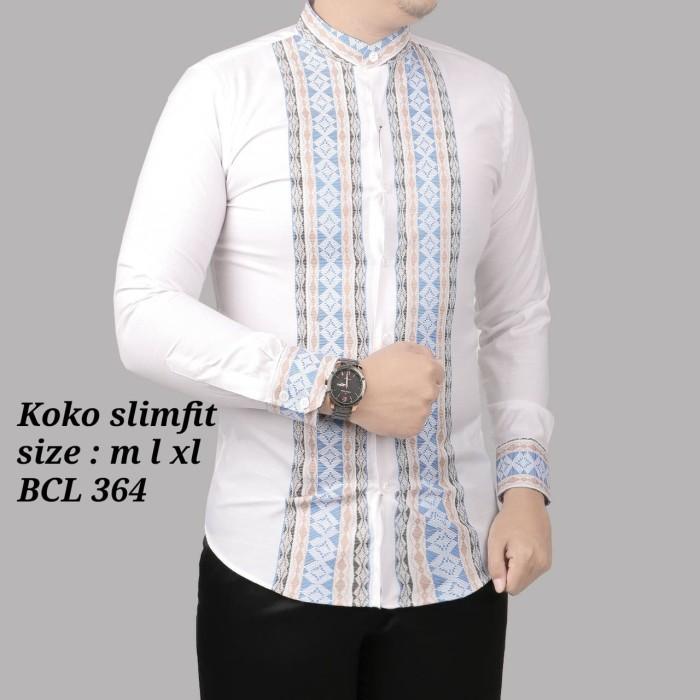 Foto Produk Baju koko fashion, pakaian muslim pria KL 77 dari Cemerlang Batik