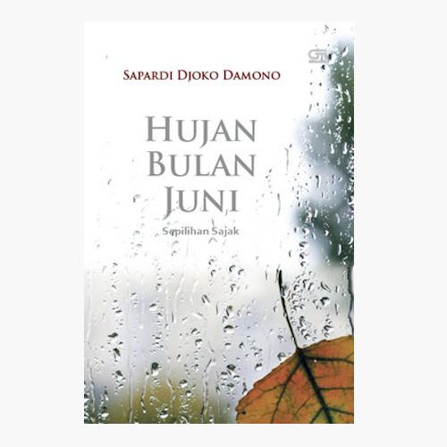 Foto Produk Hujan Bulan Juni - Sepilihan Sajak - Sapardi Djoko Damono - Hard Cover dari Toko Kutu Buku