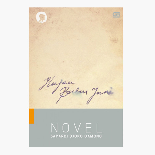Foto Produk Hujan Bulan Juni - Novel - Sapardi Djoko Damono - Gramedia Pustaka U dari Toko Kutu Buku