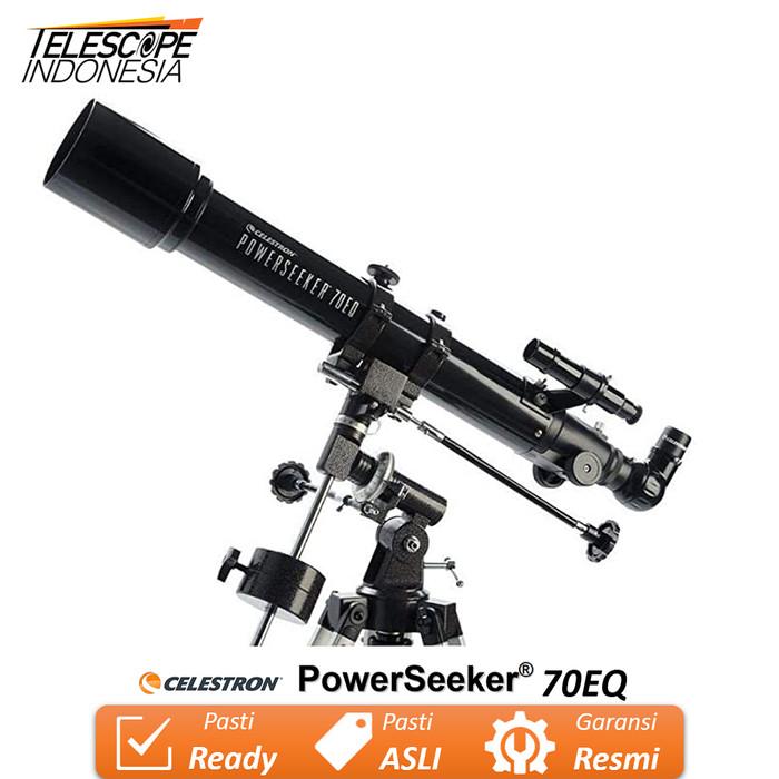 Foto Produk Celestron PowerSeeker 70EQ Teleskop dari TelescopeIndonesia