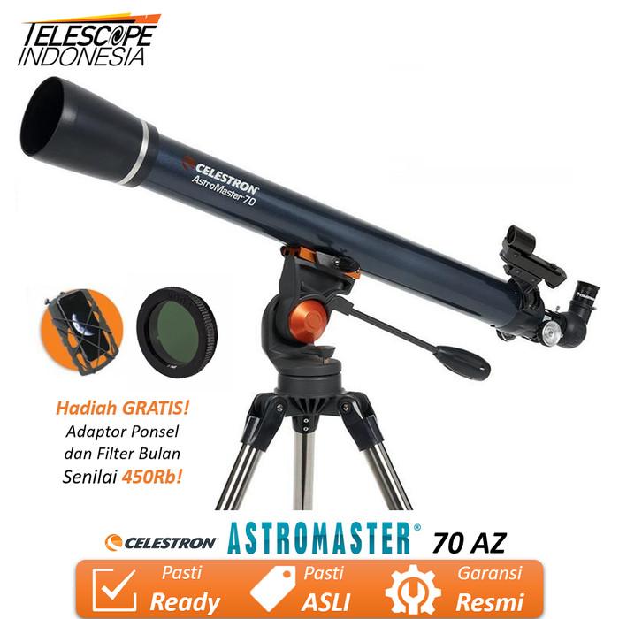 Foto Produk Celestron AstroMaster 70AZ Teleskop dari TelescopeIndonesia