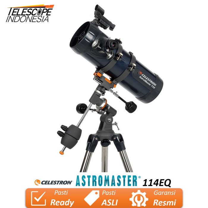 Foto Produk Celestron AstroMaster 114EQ Teleskop dari TelescopeIndonesia