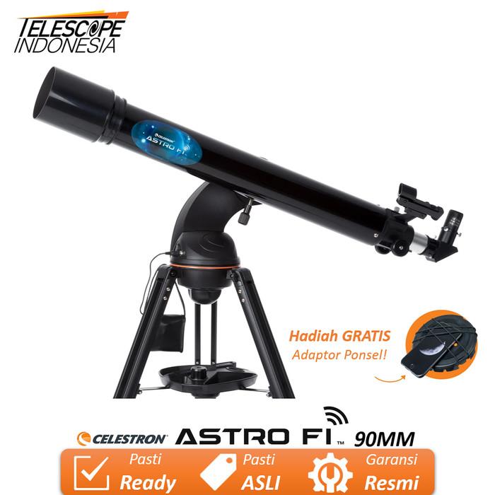 Foto Produk Celestron ASTRO FI 90MM Teleskop Terkomputerisasi dari TelescopeIndonesia