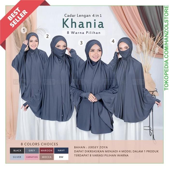 Jual Jilbab Lengan Khimar Cadar Hijab Instan Tangan Panjang Kerudung Masker Black Kota Cimahi Hanz Olstore Tokopedia