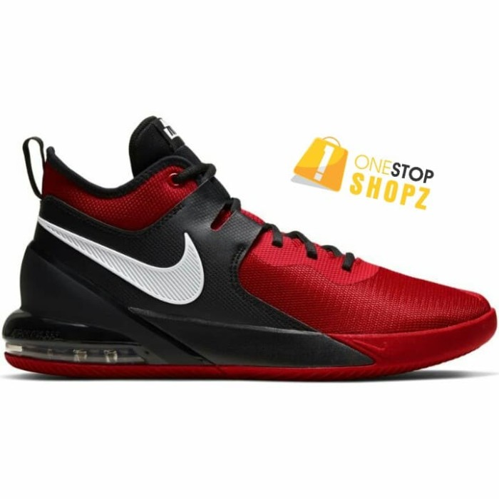 nike red basketball shoes
