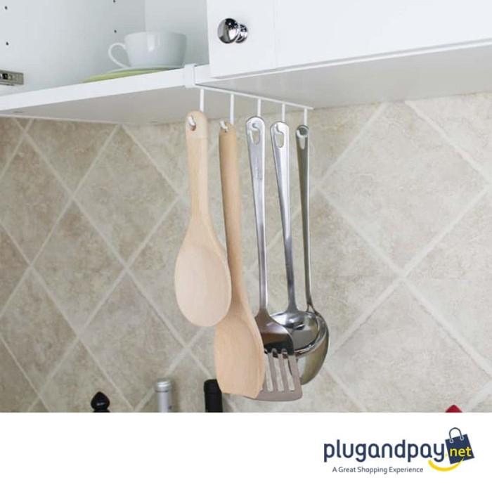 Foto Produk Rak Gantung Peralatan Dapur Rak Gantung Gelas Gantungan dari plugandpay
