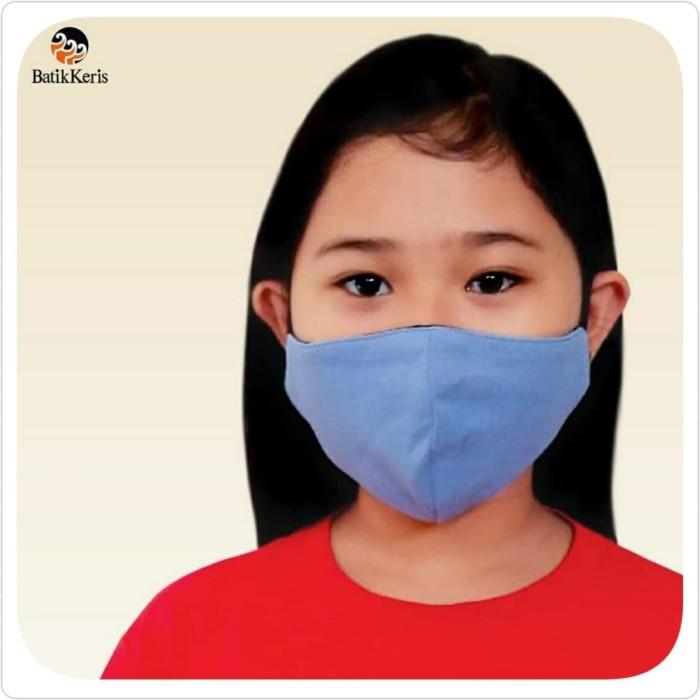 Foto Produk Masker Polo Anak Premium Batik Keris Ready Stock - S dari Kaia Boutique