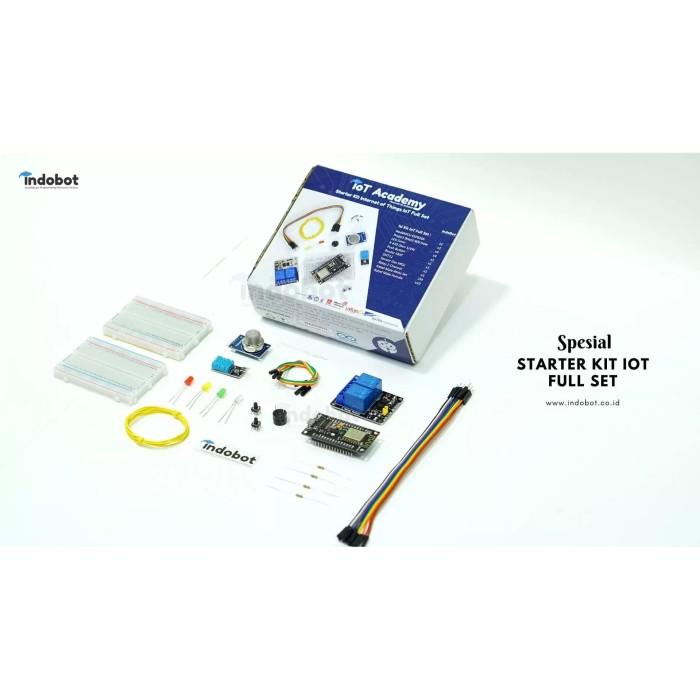 Foto Produk Starter Kit Internet of Things IoT Full Set dari Indobot Store