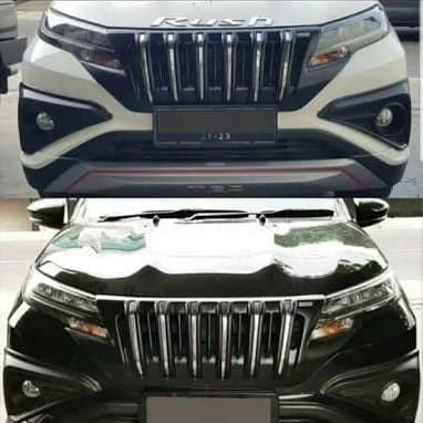 Foto Produk grill Toyota Rush/Terios pelastik ABS 2018-sekarang dari adill accessories
