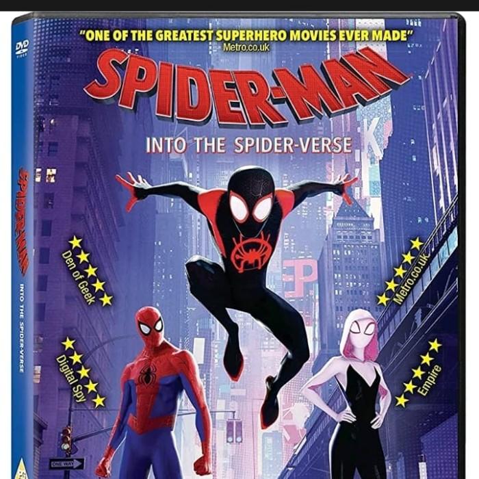 Jual Dvd Film Animasi Spider Man Into The Spider Verse 2018 Jakarta Barat Passtilaku Store Tokopedia