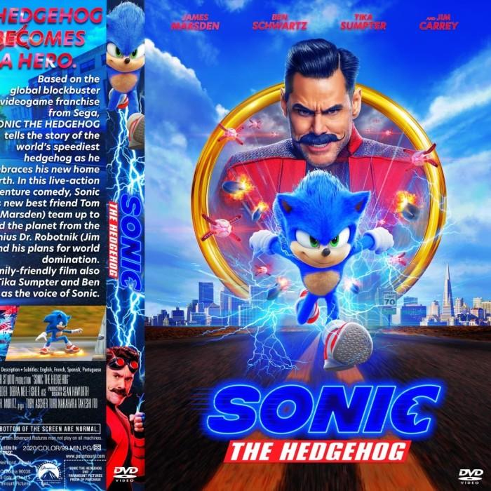Jual Dvd Film Sonic The Hedgehog 2020 Kota Batam Rajafilm Tokopedia