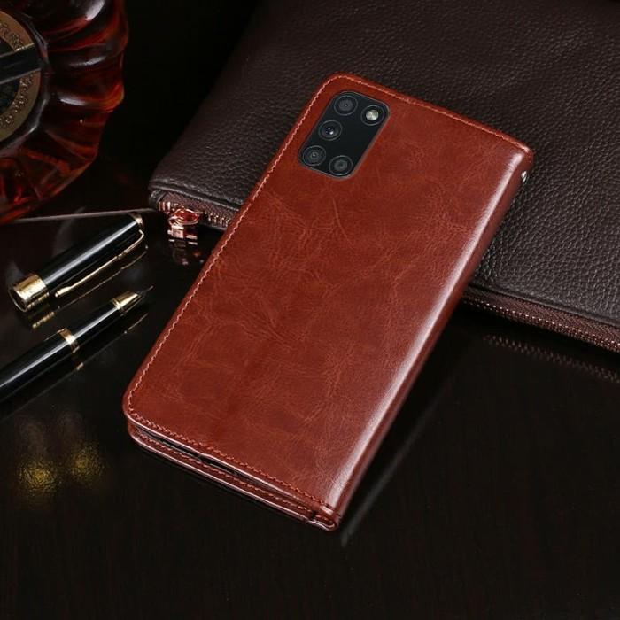 Foto Produk Case SAMSUNG Galaxy A31 leather flip cover wallet kulit dari FerraruACC