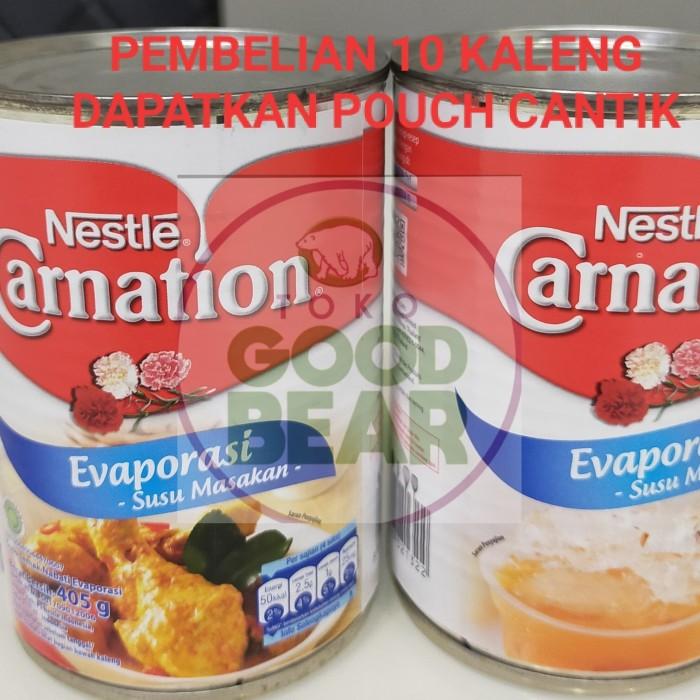Foto Produk Nestle Carnation Susu Evaporasi 405gr Promo Free Pouch Beli 10klg dari Toko Good Bear