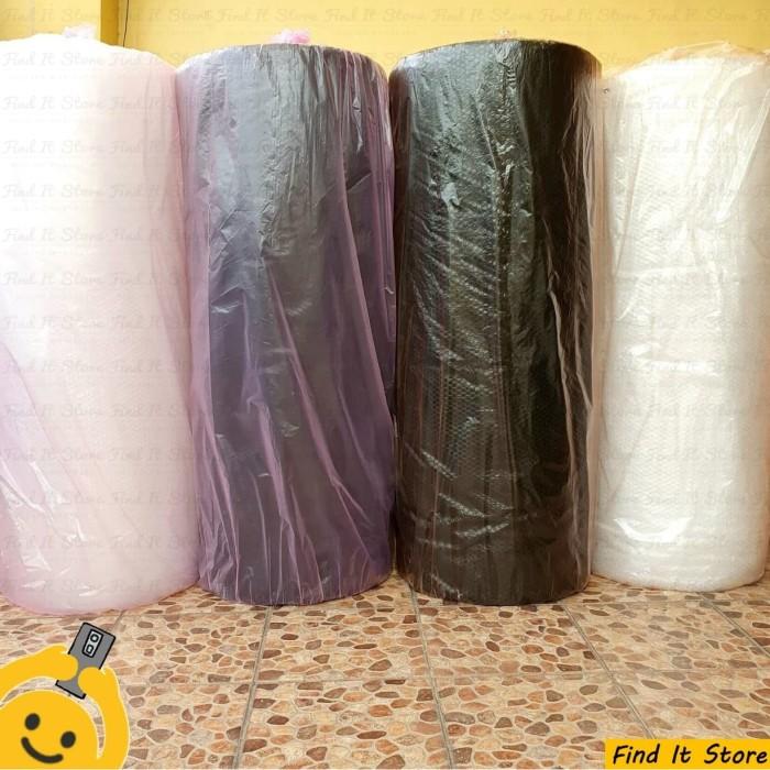 Foto Produk MURAH!!! Plastik Bubble Wrap Roll 50 x 1,25 M 50 x 125 Hitam Putih - PUTIH 2.4KG dari Find It Store