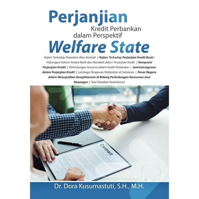Foto Produk Perjanjian Kredit Perbankan Dalam Perspektif Welfare State dari roabaca