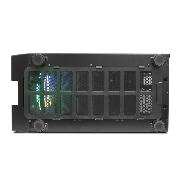 Foto Produk CASING PRIME A-D - PREMIUM GAMING CASE - 3PCS RAINBOW FLOWING RGB FAN dari kotakbesarsp