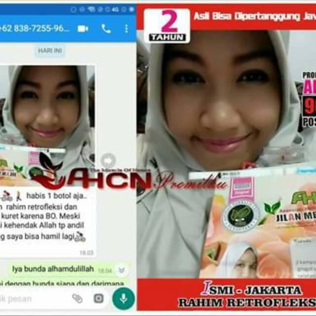 Jual Ahcn Herbal Program Hamil Jakarta Selatan Dellamaretha25 Mall Tokopedia