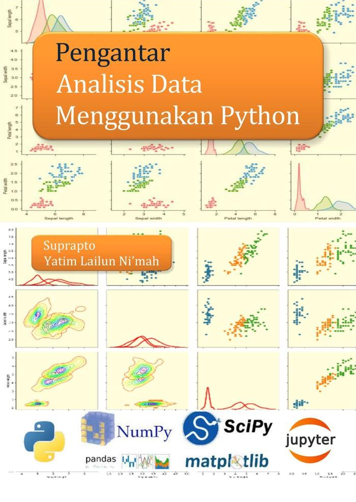 Foto Produk Pengantar Analisis Data Menggunakan Python dari roabaca