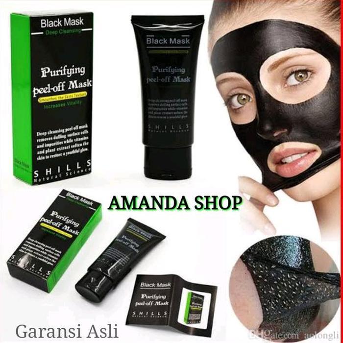 jual masker pencabut komedo seketika obat masker lumpur hitam pembersih kab semarang qasimhu2020 tokopedia