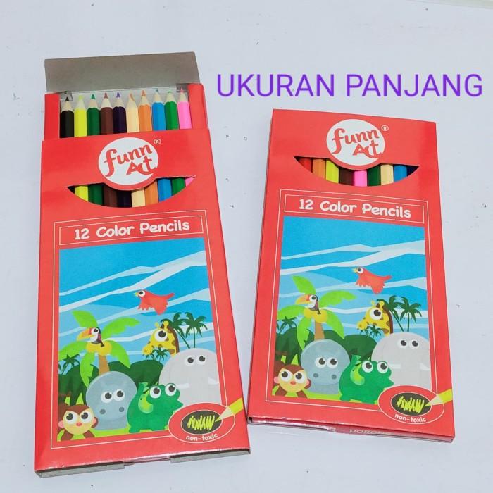 Foto Produk Pensil Warna Nakami Set 12 Panjang dari Toko Buku dan Stationery