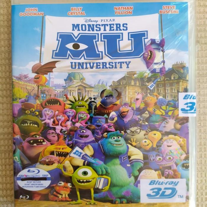 Jual Bluray 3d Mu Monsters University 2013 Jakarta Pusat Bluraydvd Tokopedia