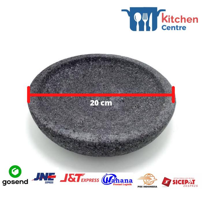 Foto Produk Cobek Batu Coet Batu Asli Ukuran 20 Murah Termurah dari kitchen centre