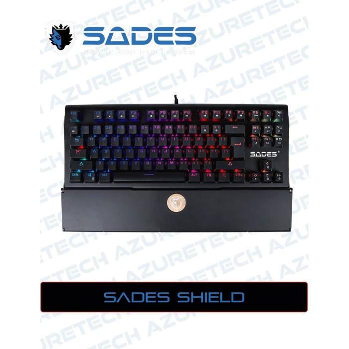 Jual Sades Shield Tkl Rgb Mechanical Gaming Keyboard Garansi Resmi Hitam Jakarta Pusat Azuretech Tokopedia