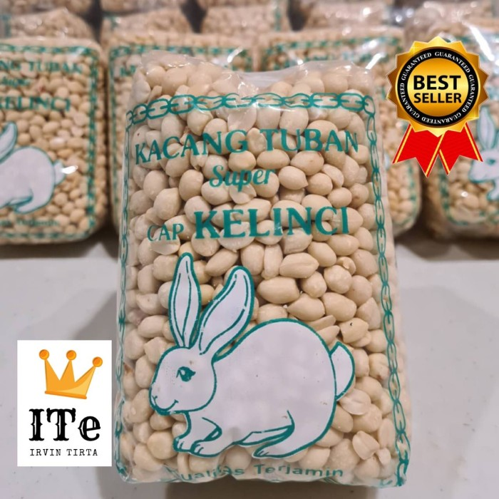 Foto Produk Kacang tanah tuban kupas 650gr dari irvintirta