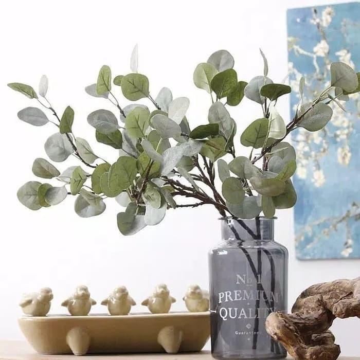 Foto Produk Daun Eucalyptus High Quality Artificial Eucalyptus Leaves dari TwilightShop