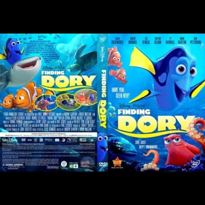 Jual Dvd Film Animasi Finding Dory 2016 Jakarta Barat Passtilaku Store Tokopedia