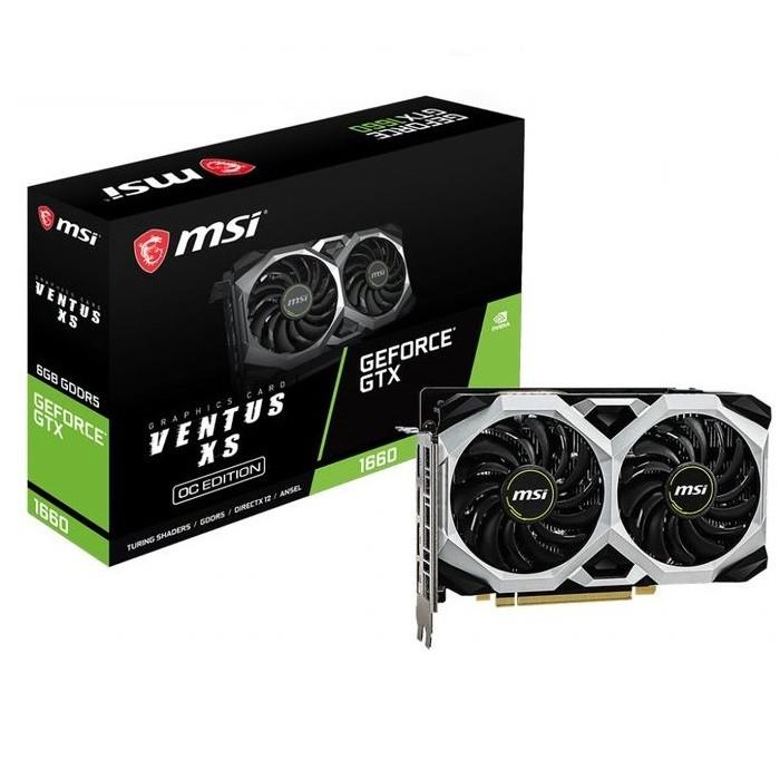 Foto Produk MSI Geforce GTX 1660 6GB DDR5 - Ventus XS 6G OC dari COC Komputer