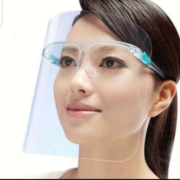Foto Produk Kacamata Face Shield APD Medis Pelindung Virus dari Quick & Easy