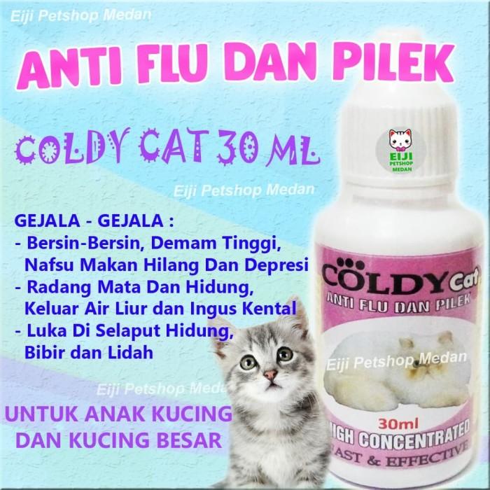 Jual Coldy Cat 30 Ml Obat Flu Kucing Obat Flu Dan Pilek Kucing Kota Medan Eiji Petshop Medan Tokopedia