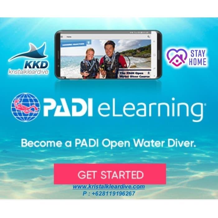 Foto Produk PADI eLearning Open Water Diver dari Kristal Klear Dive