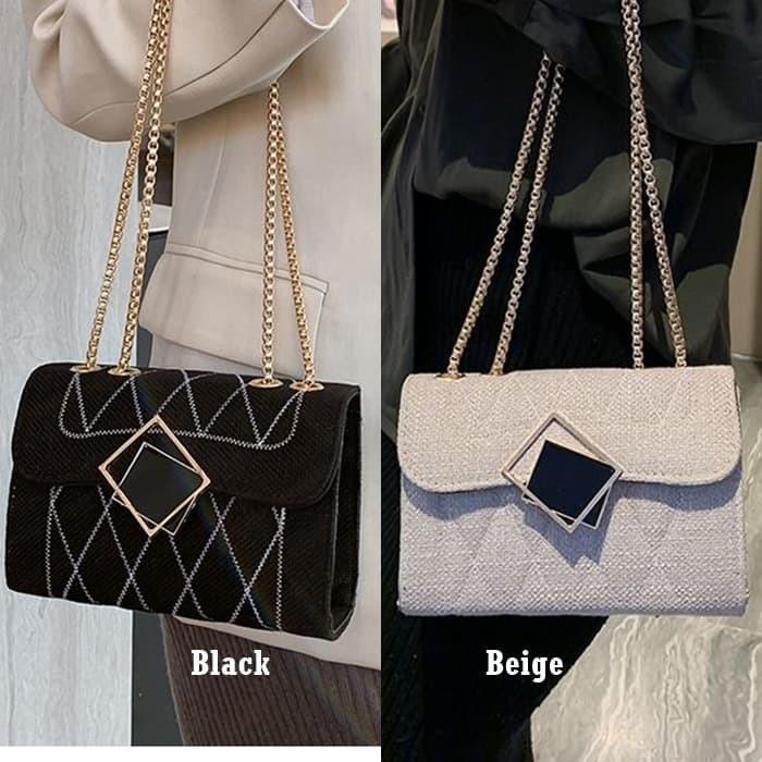 Foto Produk Sling Bag Pesta Rantai Tas Selempang Wanita Modis Import Grosir G17576 dari Gudang Distributor Murah