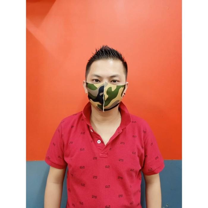 Foto Produk Masker Kain Scuba Anti Virus - Army dari Clothicstore