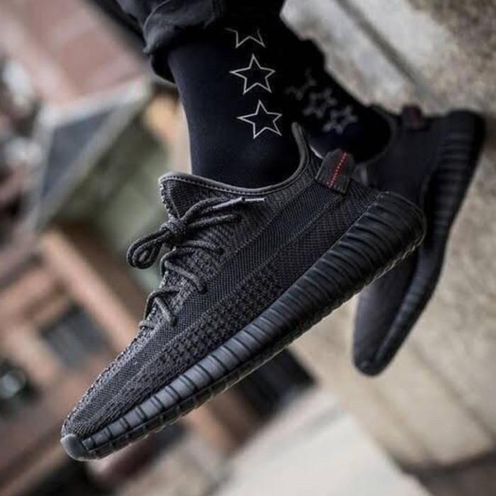 yeezy static all black