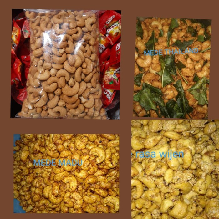 Foto Produk ready..!! kacang mede oven 1 kg - MEDE ORIGINAL dari Medegrosir