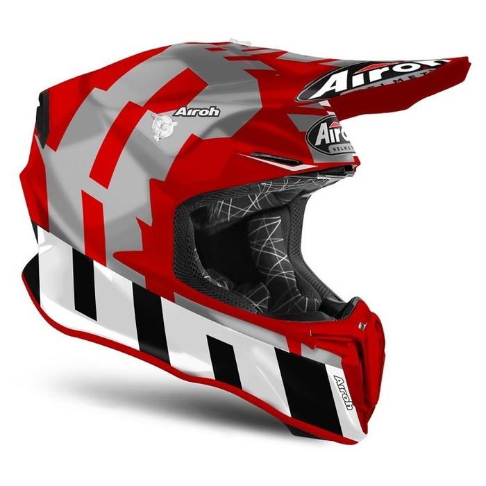 Foto Produk Helm Airoh Twist 2.0 FRAME Red Matt Motorcross Motocross MX dari Juragan Helm ID