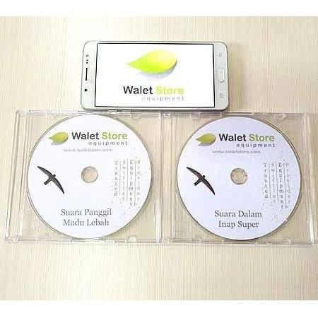 Foto Produk Paket Suara Panggil dan Inap Walet 2 CD dari Walet Store