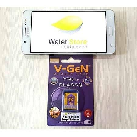 Foto Produk Memory Card Dalam Walet Inap Platinum dari Walet Store