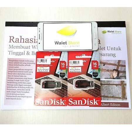 Foto Produk Paket Suara Walet 2 Flashdisk + 1 Buku dari Walet Store