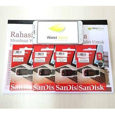 Foto Produk Paket Suara Walet 4 Flashdisk + 1 Buku dari Walet Store