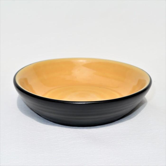 Foto Produk Artisan Ceramic |Yellow Black Chungky M| Tempat Sauce Keramik dari Artisan Ceramic