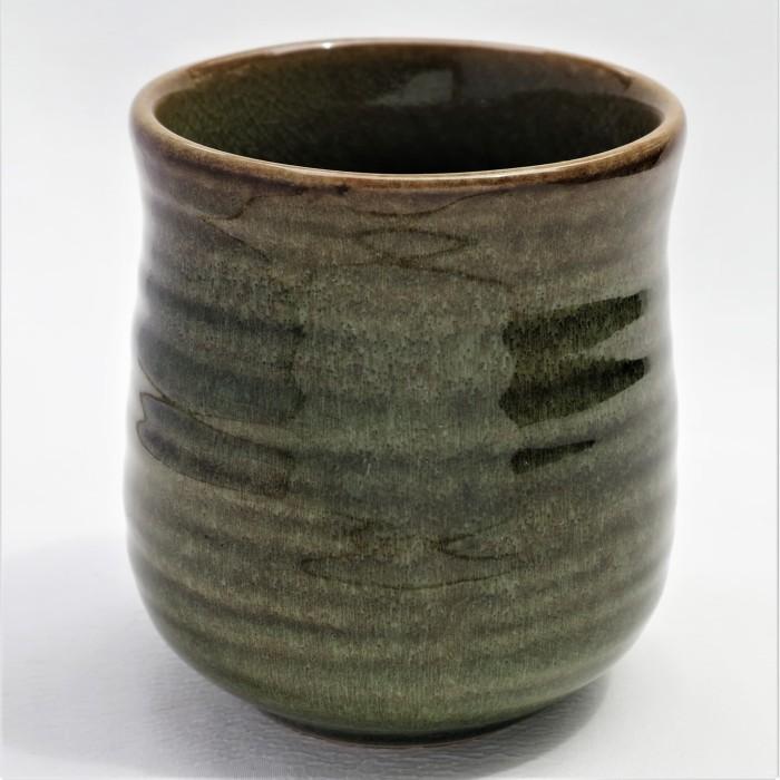 Foto Produk Artisan Ceramic |Chongja Green Ocha Cup |Gelas Ocha Keramik dari Artisan Ceramic