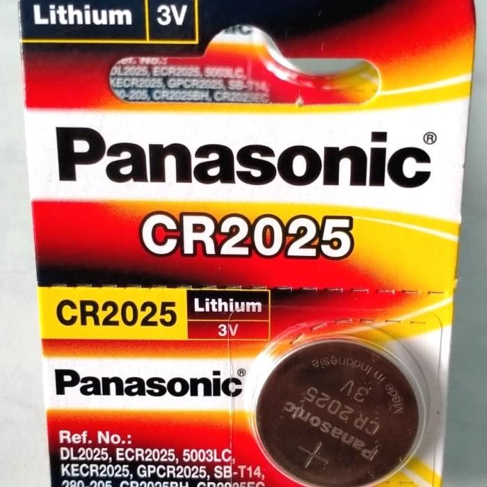 Foto Produk Baterai Panasonic CR-2025 / CR- 2025 (3V) dari Daf daf shop